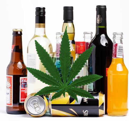 Алкохол или Канабис