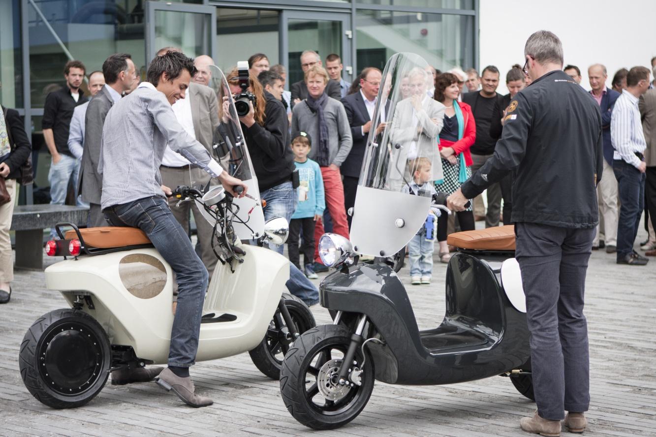 Скутер от коноп в Холандия