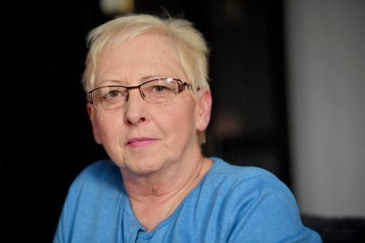 Една възрастна жена и нейната употреба на канабис