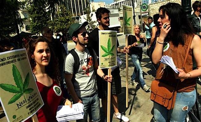 Гърция легализира употребата на коноп за медицински цели