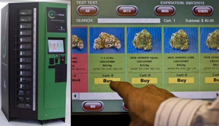 Автомати за медицински канабис скоро в Канада