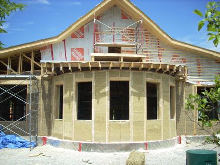 Дишащи къщи с тухли от коноп