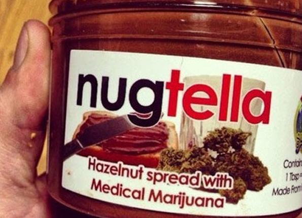 Nugtella - течен шоколад с канабис