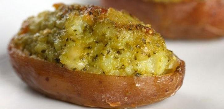Тройно печени картофи
