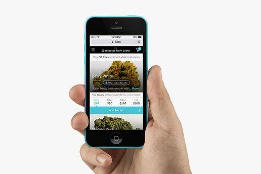 Мобилно приложение за доставка на коноп по домовете