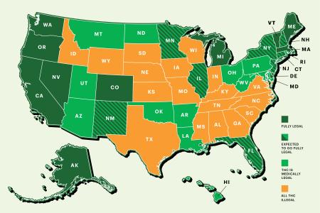 Ще бъдат ли САЩ меката на легалния канабис?
